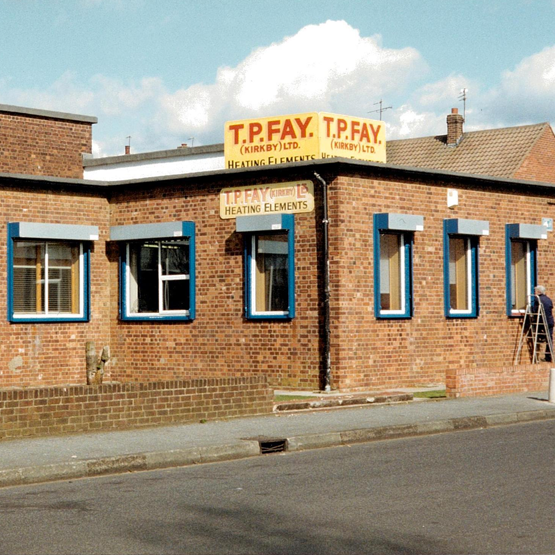 TPFAY Factory Old Front - Specialists with over 40 years of experience in the manufacture and design of heating elements