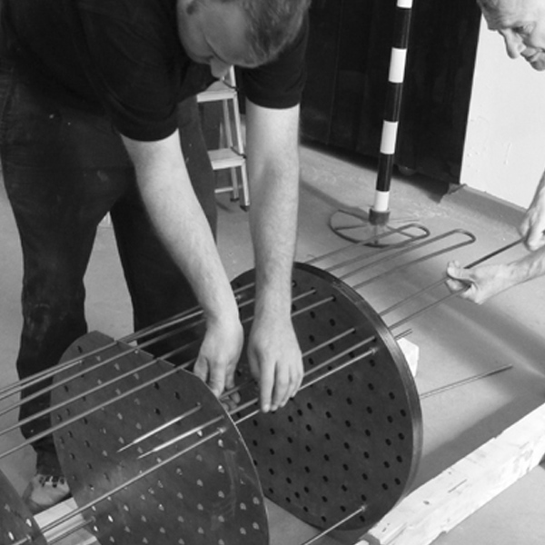 Repair of heating elements by expert technicians